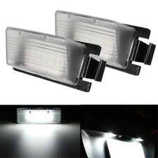 2 White LED License Plate Light Lamp For Nissan 350Z 370Z GT-R Infiniti G35 G37