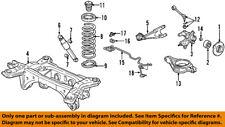 Acura HONDA OEM 03-06 MDX Rear-Shock Absorber or Strut 52610S3VA05