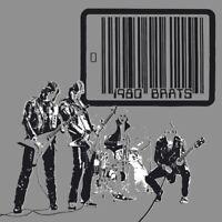 BRATS - 1980 (SILVER/BLACK SPLATTERVINYL/POSTER)    VINYL LP NEU