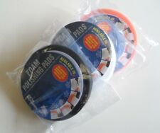 X3 Foam Buffing Polish Waffle Pads Set Velcro Head 150 mm x 25 mm Firm Medium Soft
