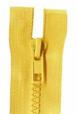 40cm Gold Open End Chunky Zip