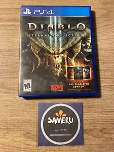 USED DIABLO III 3 ETERNAL COLLECTION PLAYSTATION 4 PS4 GOOD CONDITION FREE SHIP