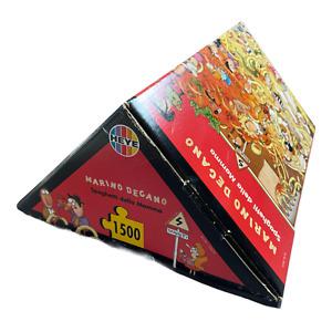 HEYE 'Spaghetti della Mamma' 1500 Piece Jigsaw Puzzle + Poster | Rare & Complete