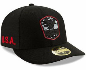 HOUSTON TEXANS NEW ERA 59FIFTY SALUTE TO SERVICE ON-FIELD NFL FITTED CAP