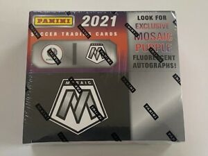 2021 MOSAIC Soccer - UEFA EURO Retail Purple Auto Box Sealed | Ready to Ship!🔥!