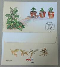 Malaysia 2015 Medicinal Plants Series III Blank FDC Type 1