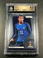 KYLIAN MBAPPE 2018 PANINI PRIZM WORLD CUP #9 NEW ERA ROOKIE RC BGS 9.5 GEM (B)