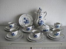 Rosenthal ♥ Strasbourg ♥ Blaue Blume ♥ Kaffeeservice für 6 Personen ♥