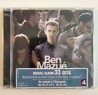 NEW CD Album Neuf ♦ BEN MAZUE : 33 ANS (CHAMALLOW)