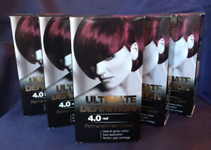 5 x Ultimate Definition 4.0 Red Permanent Hair Dye Colour Free Delivery
