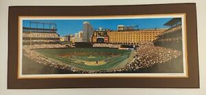 BILL PURDOM FIRST CAMDEN PITCH LITHOGRAPH