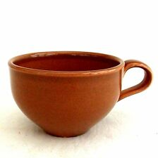 Russel Wright Nutmeg Brown Cup Mug Iroquois Pottery Mid Century Tea Cup Coffee