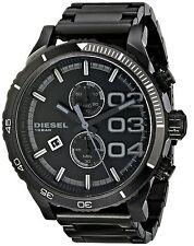 Diesel Men's DZ4326 Double Down Series Analog Display Quartz Black Chrono Watch