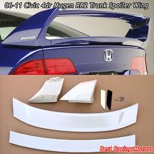 Mu-gen RR V2 Style Trunk Spoiler Wing (ABS) Fits 06-11 Honda Civic 4dr