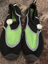 f9cde7c30 Boys Water Shoes Swim C9 Black Green Size 4 5 L Champion