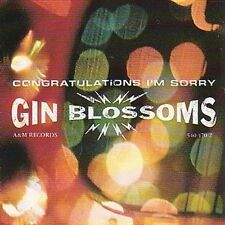 Congratulations...I'm Sorry [Import Version] by Gin Blossoms (CD, Sep-1997, A&M (USA))