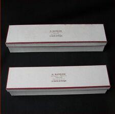 LOT 2 BOITES ANCIENNES BIJOUTERIE HORLOGERIE 1900 ANTIQUE FRENCH 2 JEWEL BOX