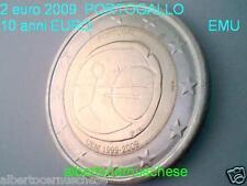 2 euro 2009 PORTOGALLO Portugal 10 anni EMU UEM COM Португалия