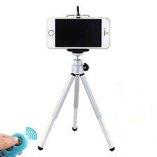 Hot Sale Bluetooth Remote Shutter + Tripod +Holder For Samsung iPhone 6 6Plus 5S