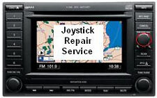 Chrysler Dodge REC navigation nav GPS radio joystick controller repair service
