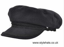 Fiddler Captain Hat Vintage Retro Style Fiddler 1960s Breton Style Cap