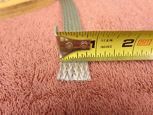 """20'..3/4""""(.75"""") Wide tinned copper ground strap..Belden 8662.....FREE SHIPPING"""