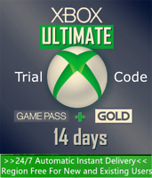 Xbox Game Pass Ultimate 14 Days 2 Weeks for PC - XGPU Trial Key Instant Dispatch