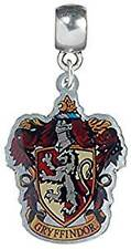 Harry Potter Gryffindor Coloured Charm - 100 Official Licensed Silver Plated
