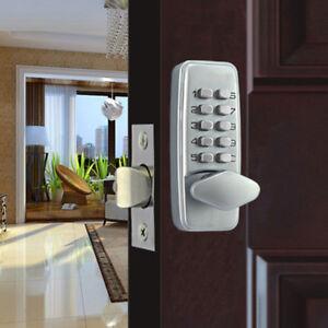 Smart Keyless Digital Code Keypad Entry Door Lock Home Security Knob