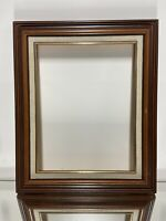 "VTG. Mid Century Wood Picture Frame Fits 10"" x 13"""