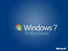 Windows 7 Pro Full installation + Activation key + 8/16GB USB