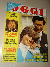 OGGI=1981/10=LADY DIANA=MONICA VITTI=PROVA FIAT 127 DIESEL=KONRAD LORENZ=BALVANO