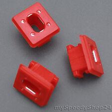 5x bmw e46 e65 e66 e67 e83 barra de decoración moldura klemmschelle clip de fijación
