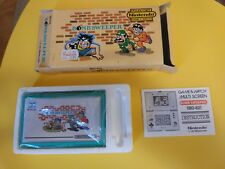 Bomb Sweeper Game & Watch Nintendo Boite