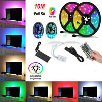 10m Led Strip Lights 32.8ft Flexible 12V Multi Color RGB 5050 3528 600 leds Tape