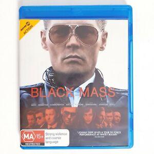 Black Mass Bluray Region B - Free Postage Blu-ray Thriller Drama Johnny Depp