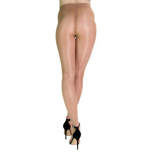 Platino Premium 40 Glossy Shiny Satin Finish Pantyhose Hosiery Tights
