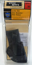 Uncle Mike's Jacket Slot Dual Retention Duty Holster #9820-1 Size20 Beretta