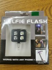 SELFIE FLASH! LED picture light, works with any phone, BLACK (free shipping)