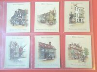 1939 Wills OLD INNS vintage pubs 2nd series set 40 cards Tobacco Cigarette