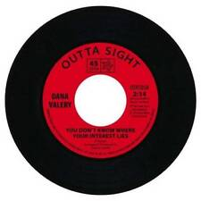 """DANA VALERY You Don't Know Where Your Interest Lies NEW NORTHERN SOUL 45 R&B 7"""""""