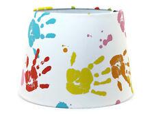 Hand Print Lampshade Light Shade Boys Girls Bedroom Nursery Handprint Wallpaper