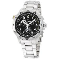 Hamilton Worldtimer Black Dial Stainless Steel Men's Watch H76714135