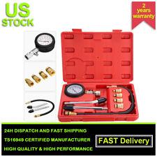 Petrol Gas Engine Cylinder Pressure Gauge Diagnostic Tool Compression Tester Kit
