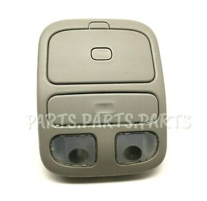 99 00 01 02 Nissan Quest Overhead Map Dome Lights Console Roof GRAY OEM 10001041
