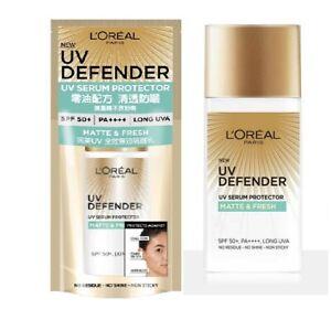 L'oreal UV Defender Serum Protector Sunscreen Matte & Fresh SPF50+ PA++++ 50ml