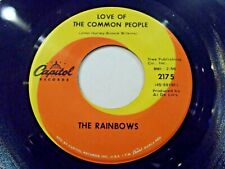 The Rainbows Love Of The Common People / Broken Heart Like Mine 45 Vinyl Record