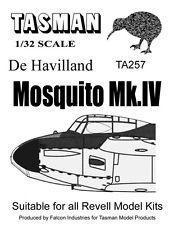 1:32 TASMAN Mosquito Mk.IV Vacform Clear Parts