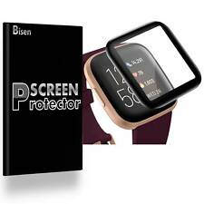[2-Pack] Full Cover Clear Screen Protector Guard For Fitbit Versa 2 / Versa 2 Se