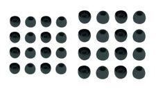 32x Ohrpolster für Sennheiser In-Ear-Ohrhörer | schwarz